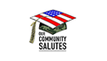 Our Community Salutes logo