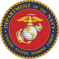 United States Marine Corps Department of The Navy logo